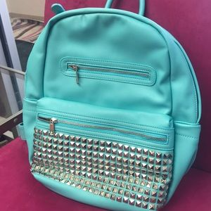 Last one! Turquoise Studded Backpack, NWT